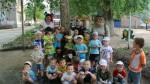 Летнее развлечение в детском саду №4.