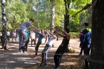 Сегодня в школе был спортивный праздник – день здоровья