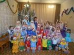 Новогодние утренники в детском саду №4.