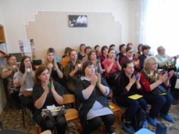 Окружной семинар в детском саду №4.