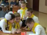Состязались пятёрки любителей математики