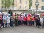 Парад дошкольных войск в детском саду