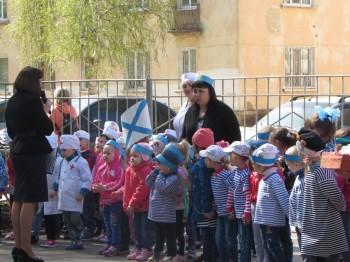 Парад  войск в детском саду