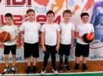 Дебют юных баскетболистов