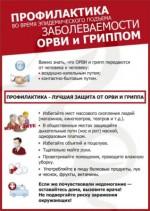 Профилактика — лучшая защита от ОРВИ и гриппа