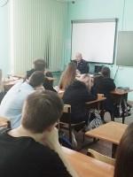 О вопросах поступления в ВУЗ беседовали с представителем МВД