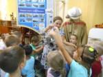 Посещение музея дошкольниками.