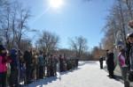 Состоялся традиционный лыжный пробег